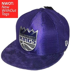 Sacramento Kings '17 Draft Fitted Hat PURPLE